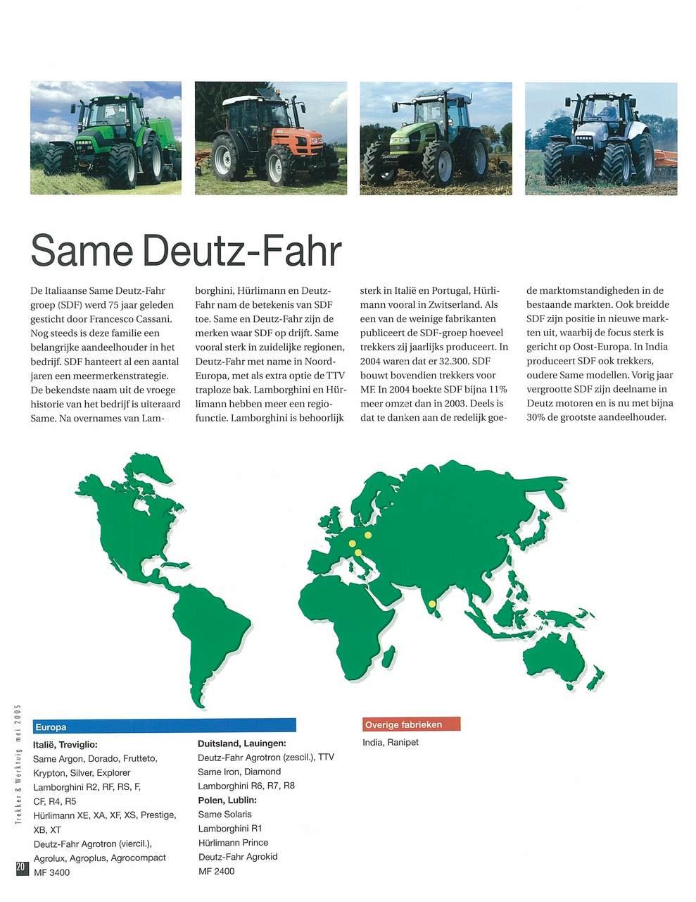 SAME Deutz-Fahr