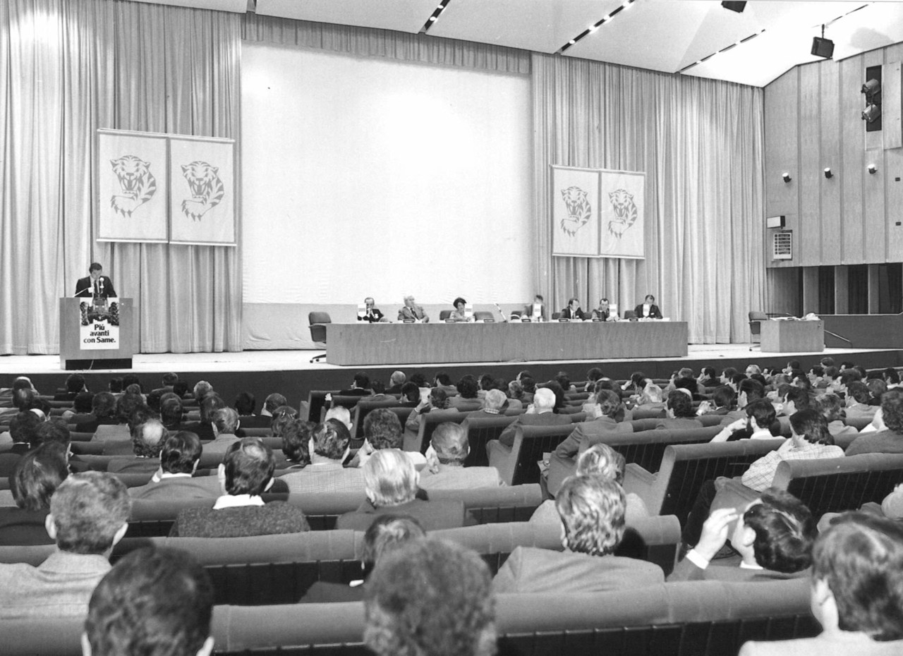 Riunione degli agenti SAME italiani ed esteri durante l'EIMA di Bologna