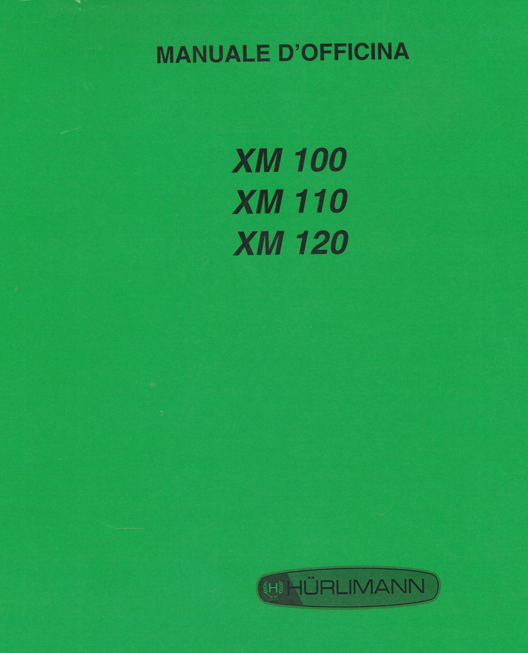XM 100 - 110 - 120 - Manuale d'officina