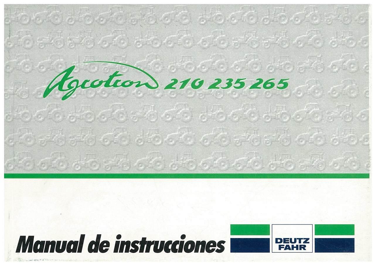 AGROTRON 210-235-265 - Uso y Mantenimiento