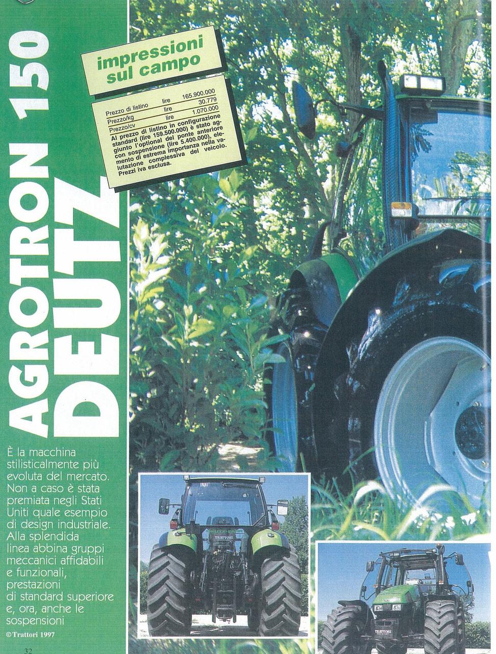 Agrotron 150 Deutz