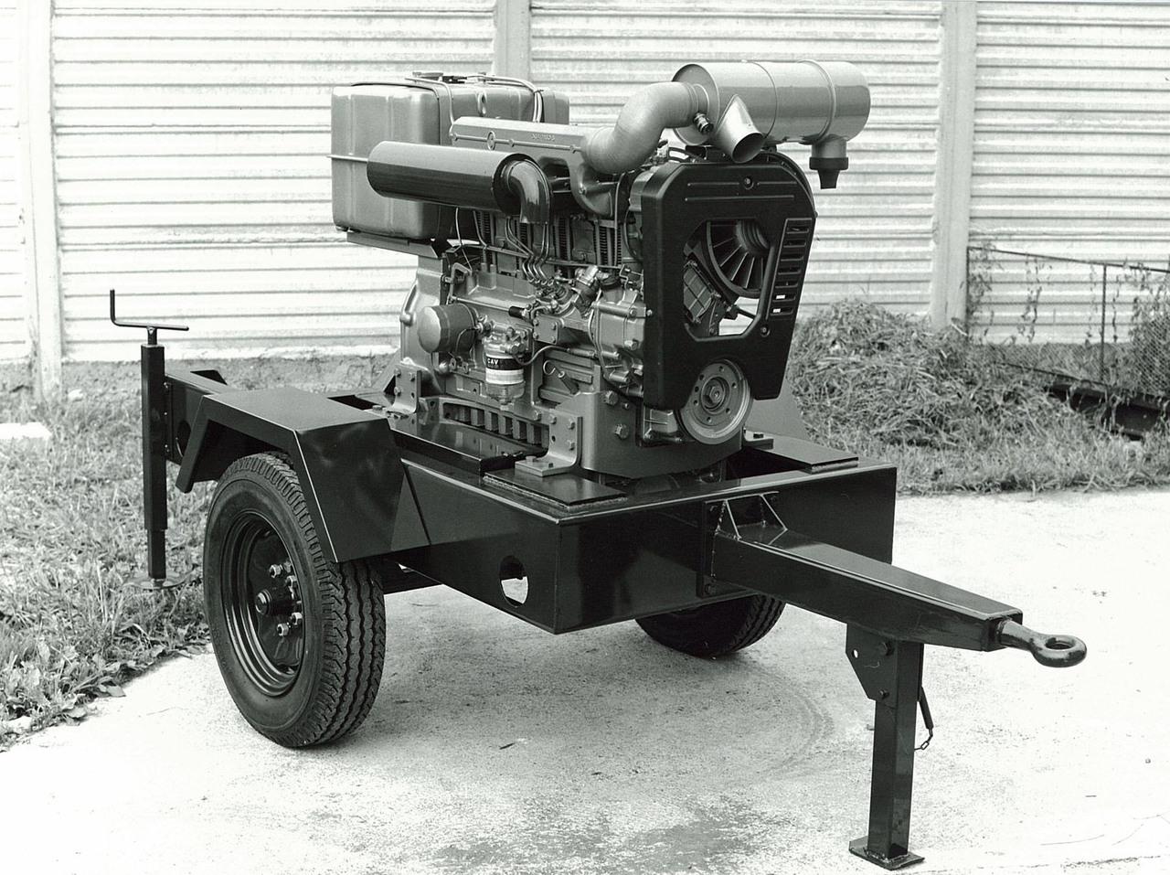 Motore SAME/ADIM serie P per uso industriale - 4 cilindri su carrello