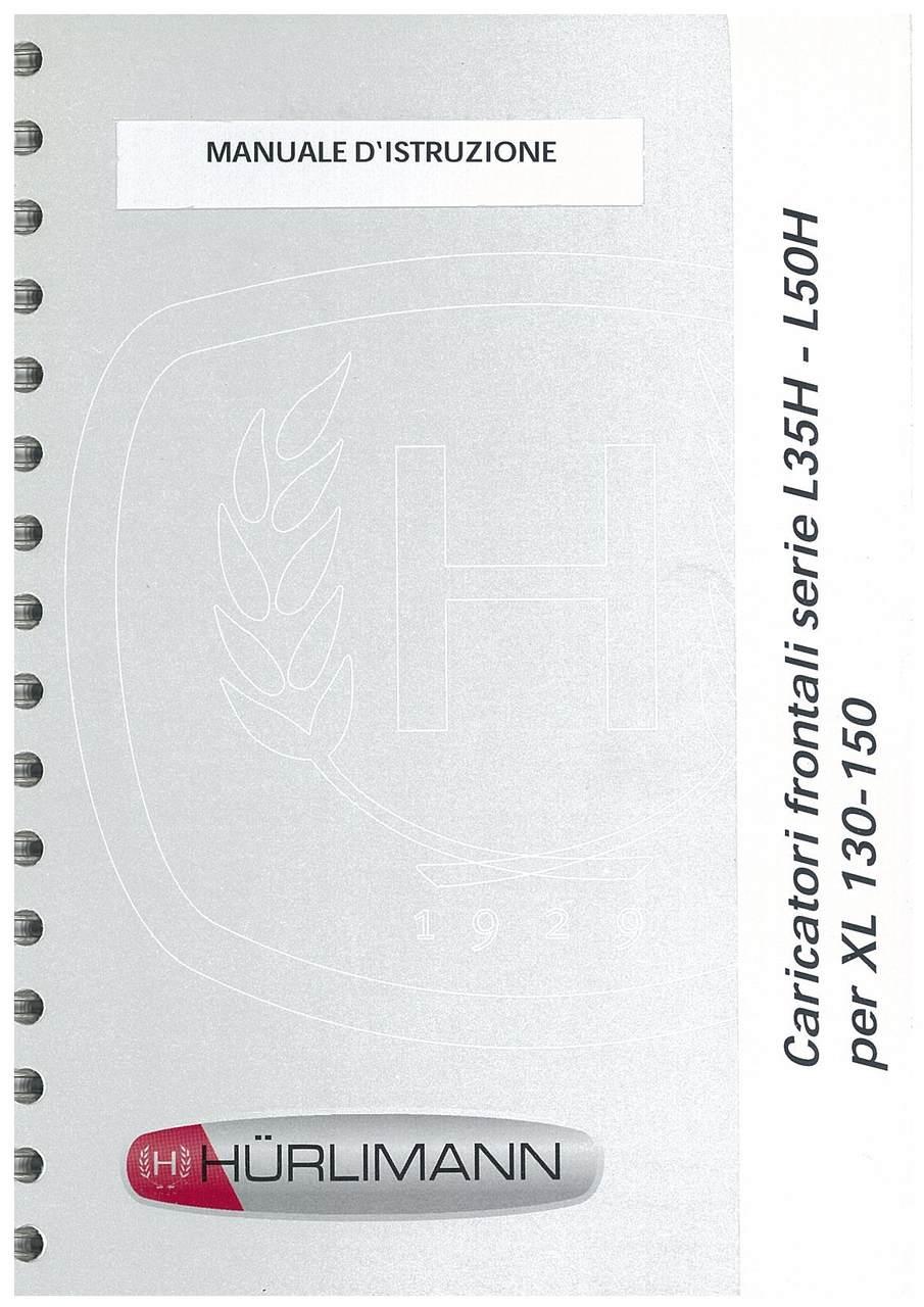 CARICATORI FRONTALI SERIE L 35 H - L 50 H per XL 130-150 - Manuale d'istruzione