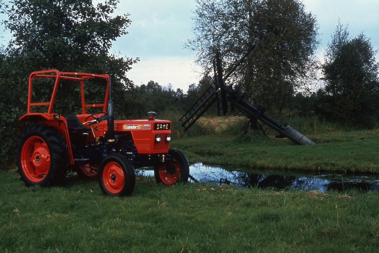 [SAME] trattore Condor 55 da fermo