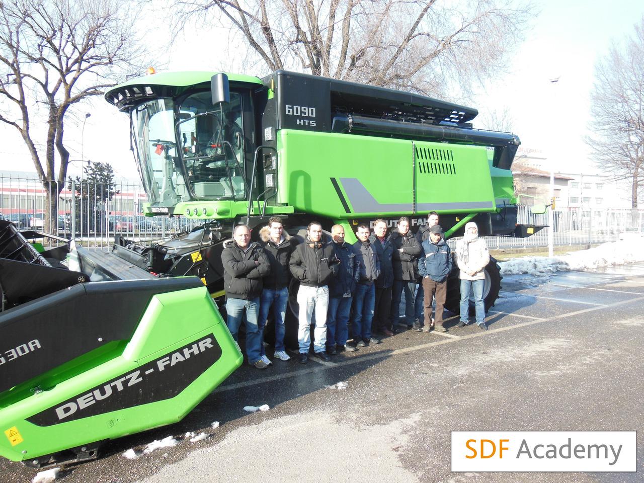 SDF Academy - Corso mietitrebbie