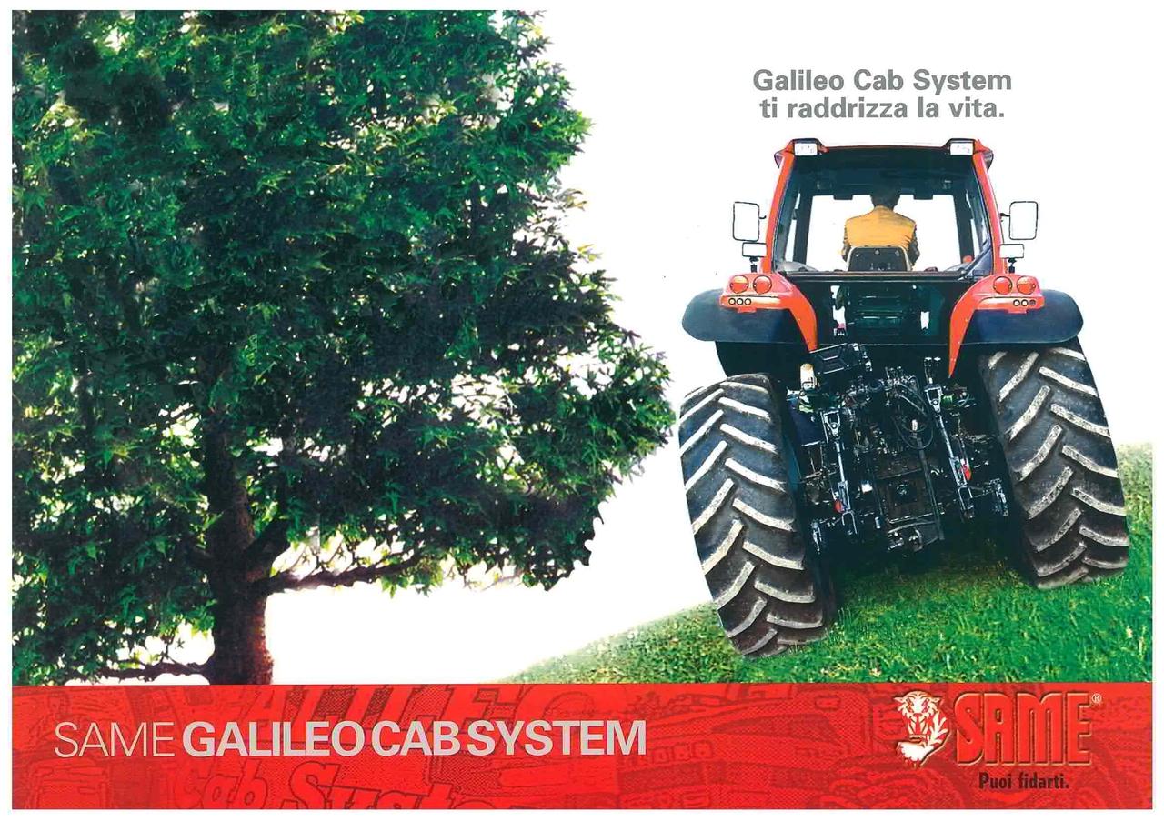 GALILEO CAB SYSTEM ti raddrizza la vita