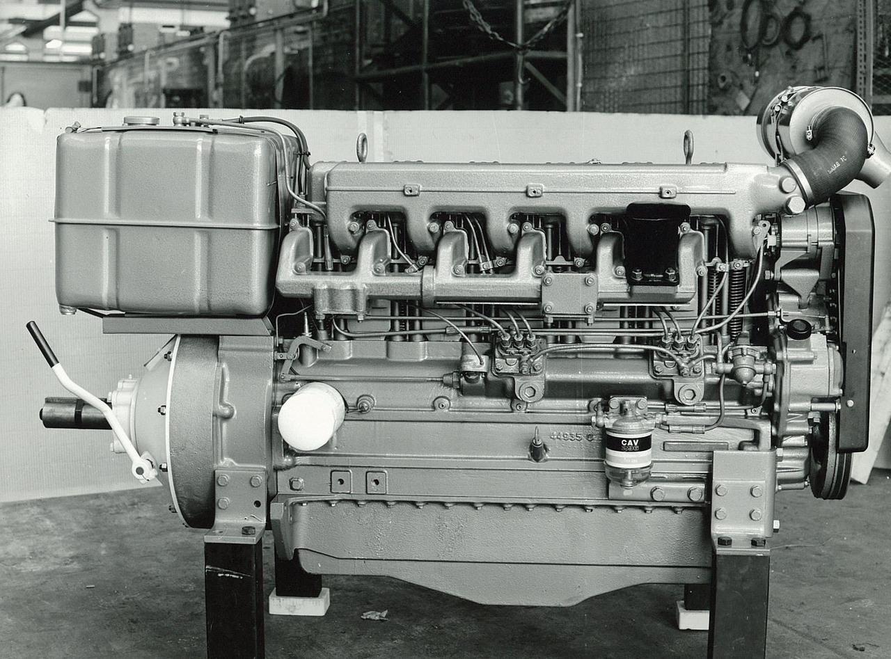 Motore SAME/ADIM serie P per uso industriale - 6 cilindri