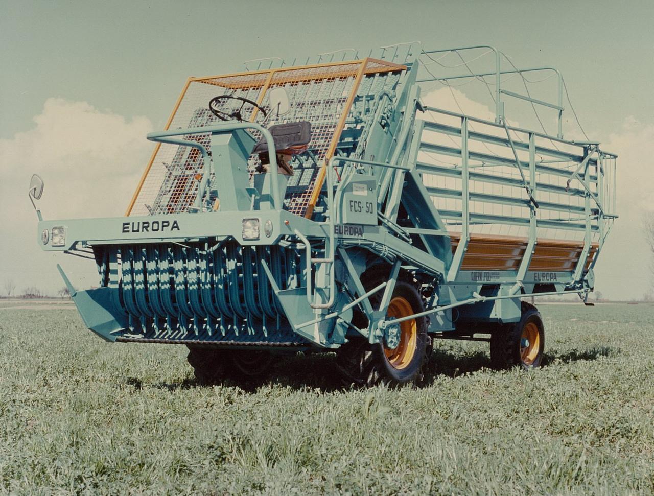 Motore ADIM per raccoglitrice di foraggio