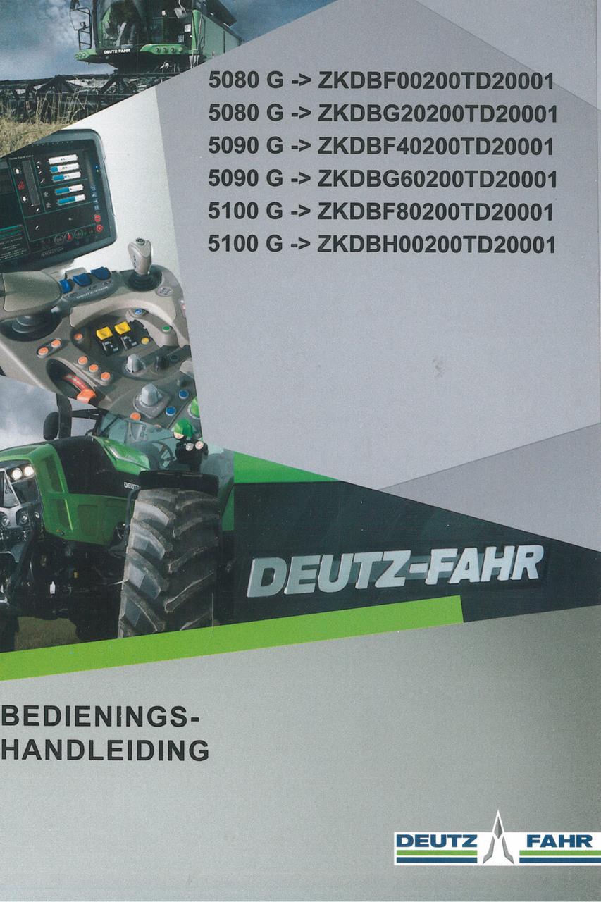 5080 G ->ZKDBF00200TD20001 - 5080 G ->ZKDBG20200TD20001 - 5090 G ->ZKDBF40200TD20001 - 5090 G ->ZKDBG60200TD20001 - 5100 G ->ZKDBF80200TD20001 - 5100 G ->ZKDBH00200TD20001 - Bedienings-handleiding