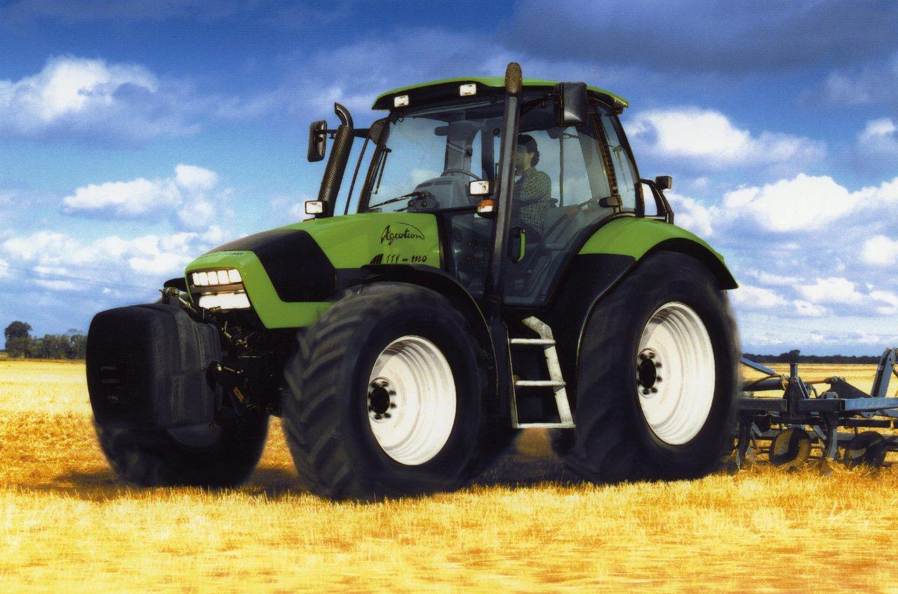 [Deutz-Fahr] trattore Agrotron TTV 1160 con ripuntatore
