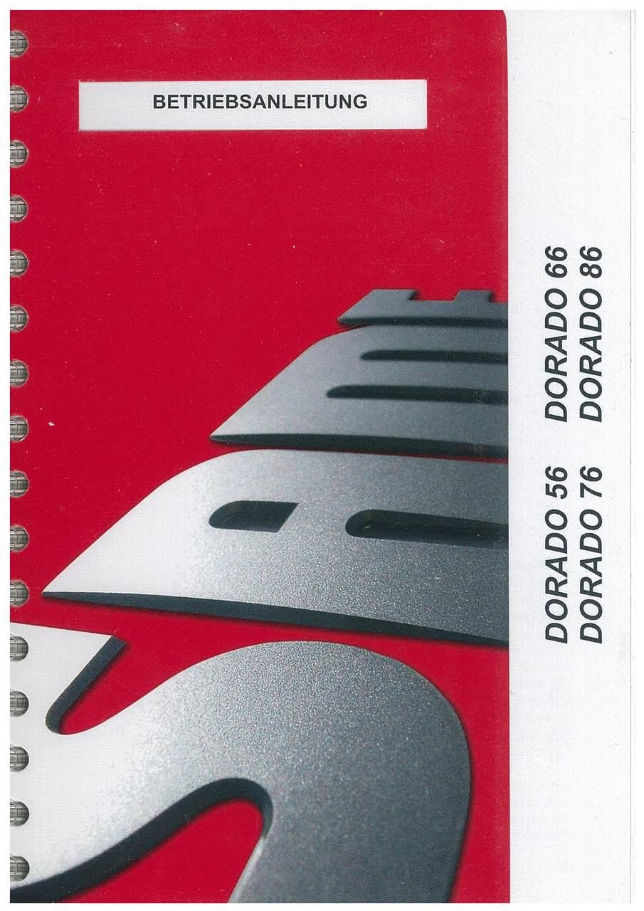 DORADO 56-66-76-86 - Betriebsanleitung