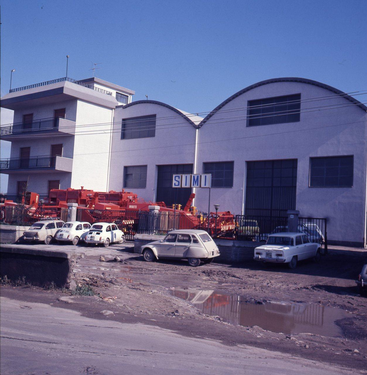 Sede SIMI - Agente SAME - Catania, 26/1/1973