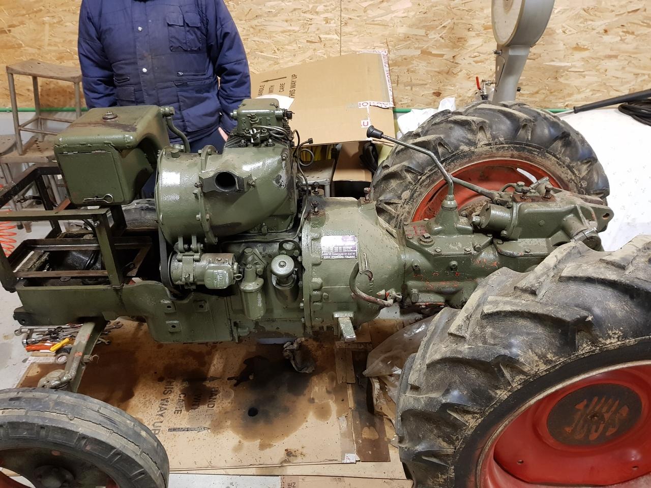 [SAME] trattore Sametto 18 HP prima e dopo il restauro