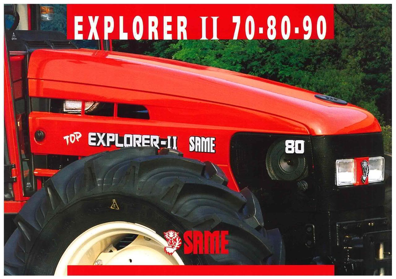 EXPLORER II 70 - 80 - 90