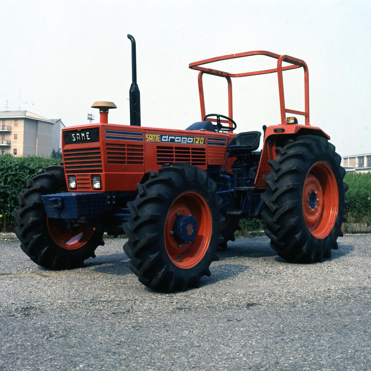 [SAME] trattore Drago 120