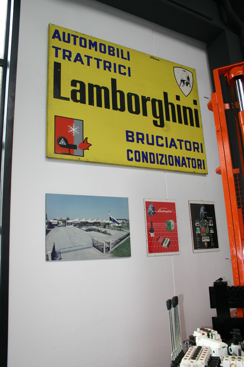 Visita del SAME Club al Museo Ferruccio Lamborghini