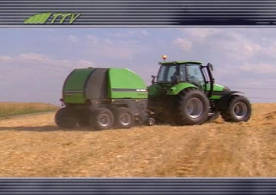 Deutz-Fahr Agrotron TTV 1160 mit Deutz-Fahr MP 255