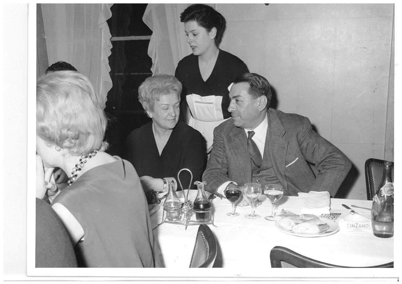 Ing. Francesco Cassani e famiglia - Cena con concessionari francesi ed importatori europei