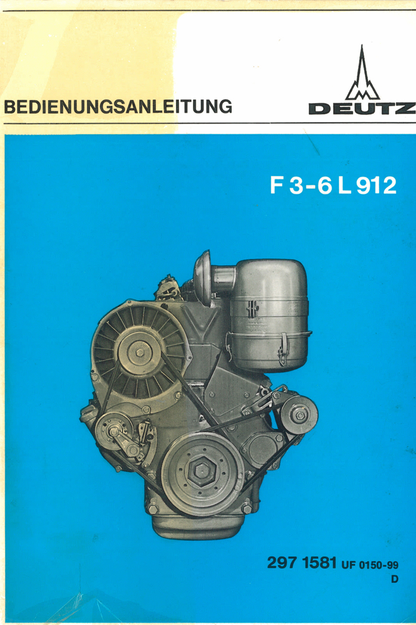 F 3-6 L 912 - Bedienungsanleitung