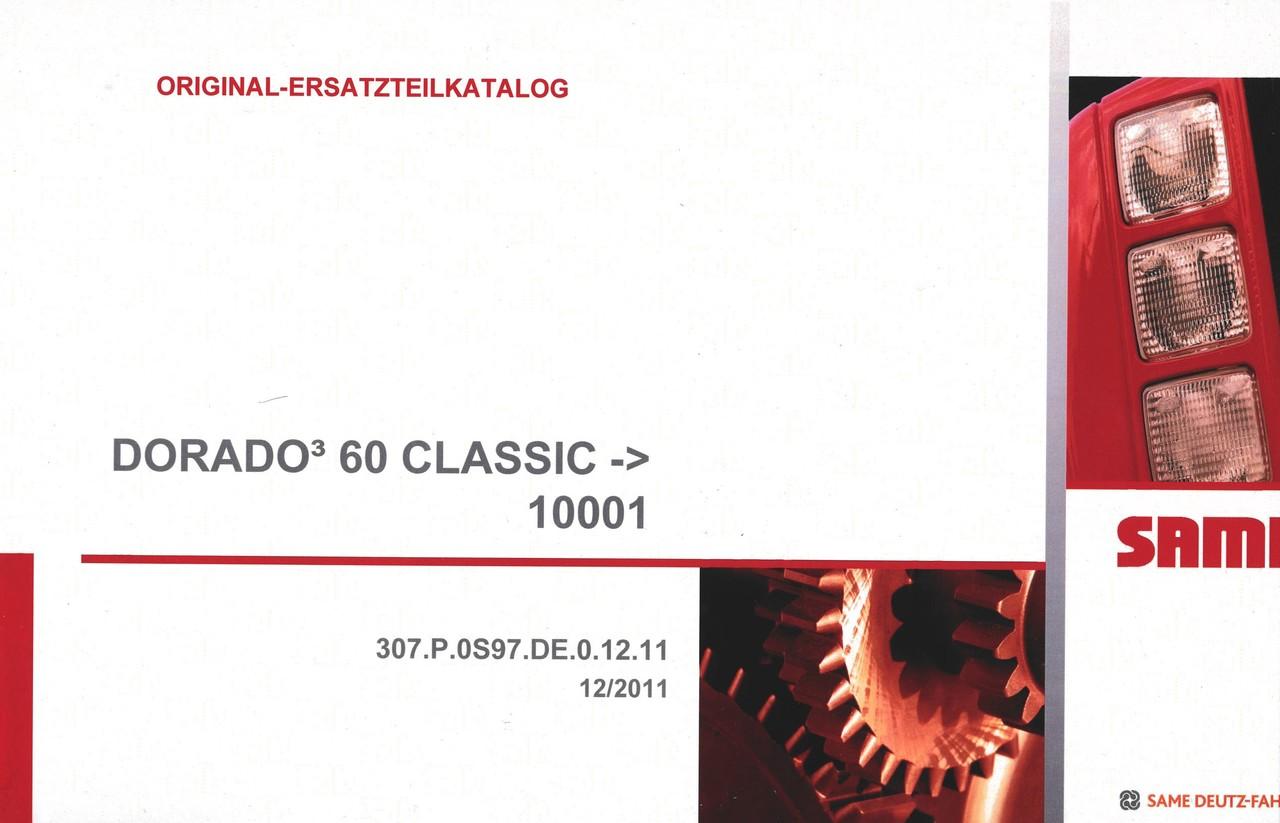 DORADO³ 60 CLASSIC ->10001 - Original-Ersatzteilkatalog