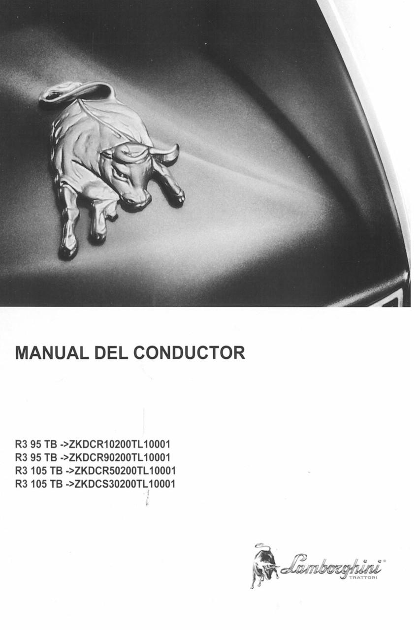 R3 95 TB ->ZKDCR10200TL10001 - R3 95 TB ->ZKDCR90200TL10001 - R3 105 TB ->ZKDCR50200TL10001 - R3 105 TB ->ZKDCS30200TL10001 - Manual del conductor