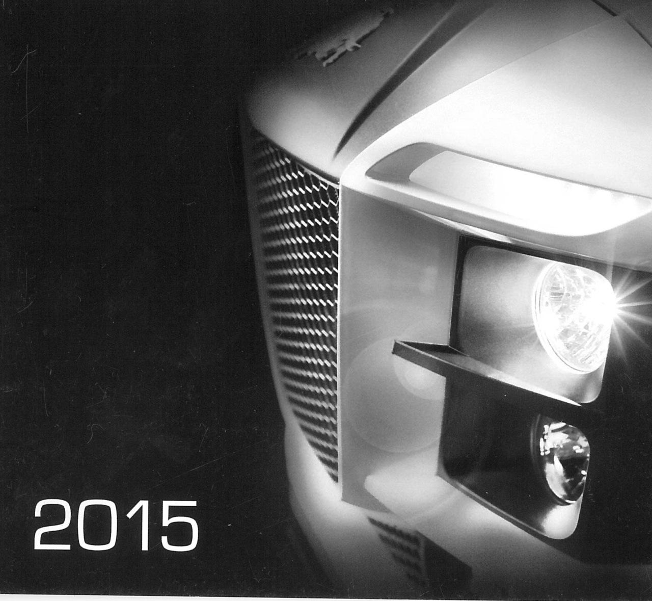 Calendario da scrivania verticale 2015