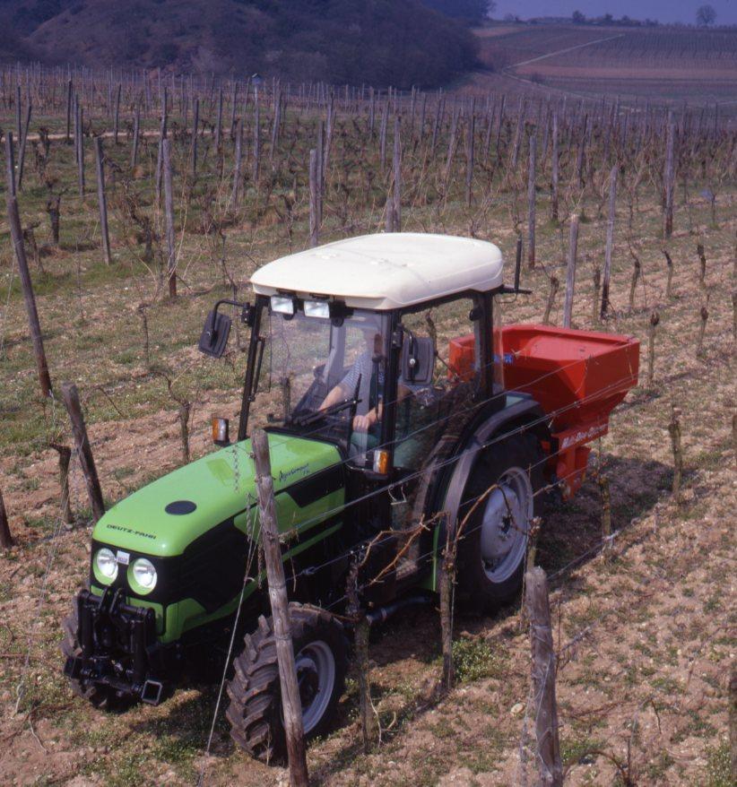 [Deutz-Fahr] trattore Agrocompact 70 F con spandiconcime