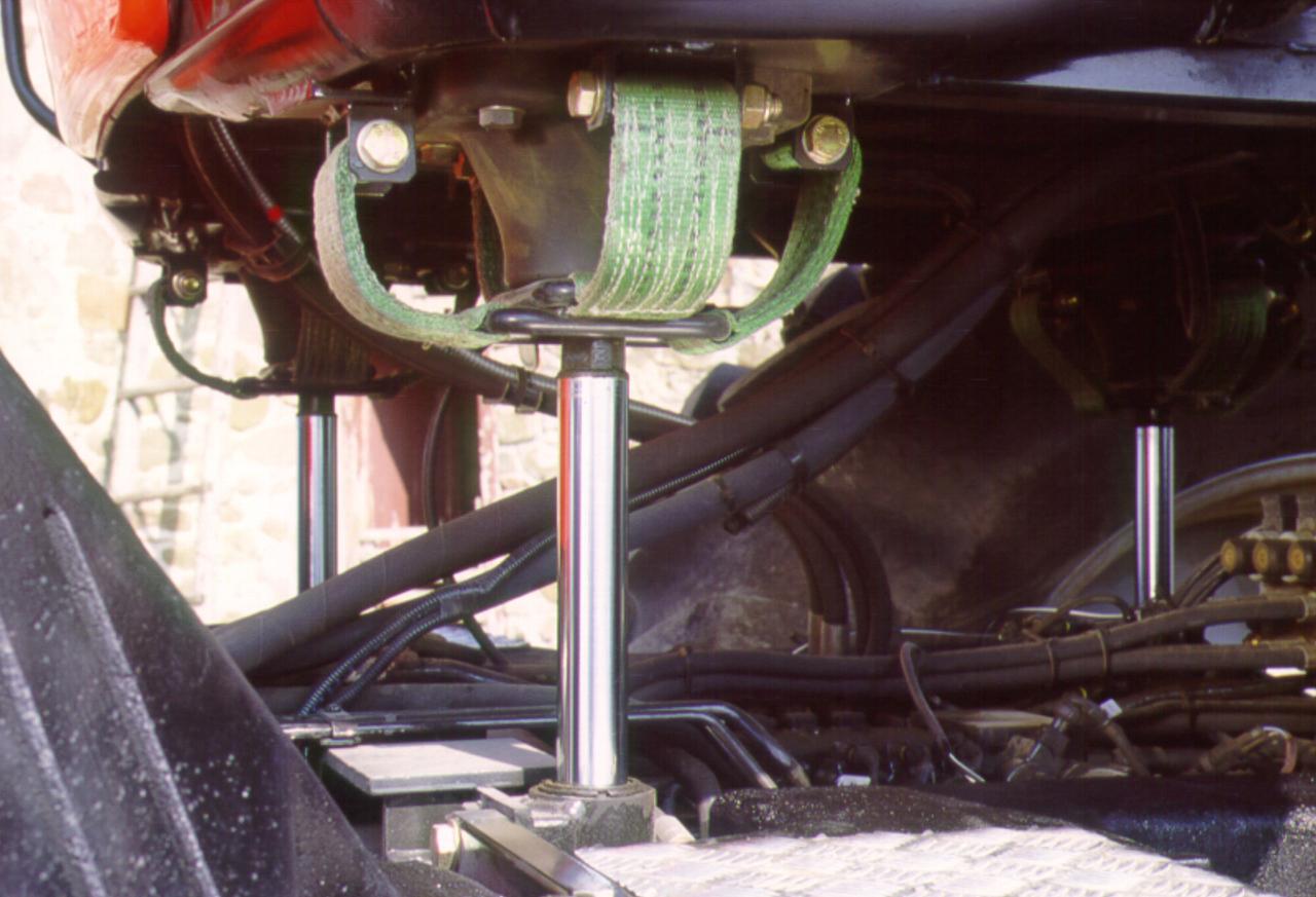 [SAME] sistema Galileo Cab System su trattore Rubin 200, particolari