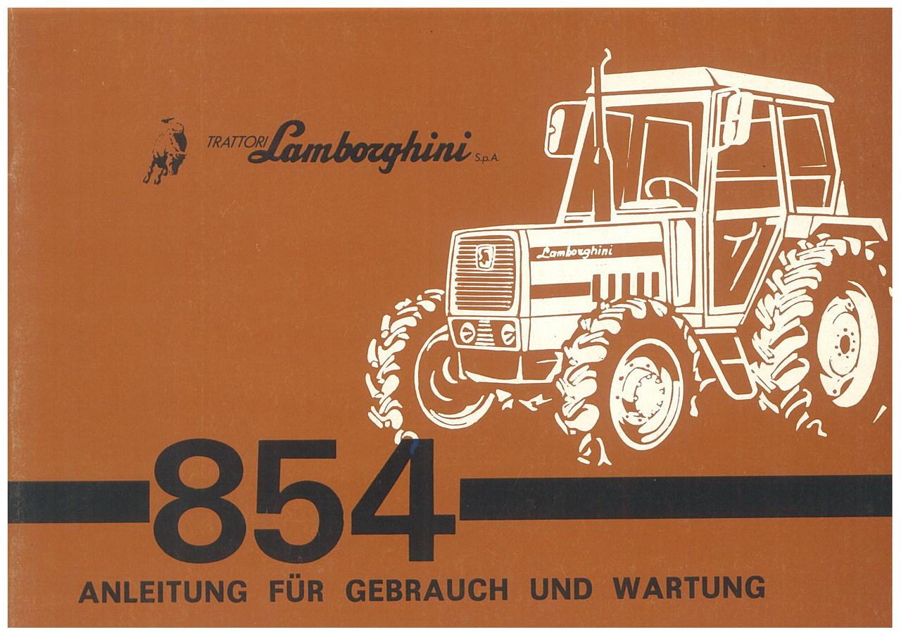 R 854 - 854 DT - Gebrauch und Wartung