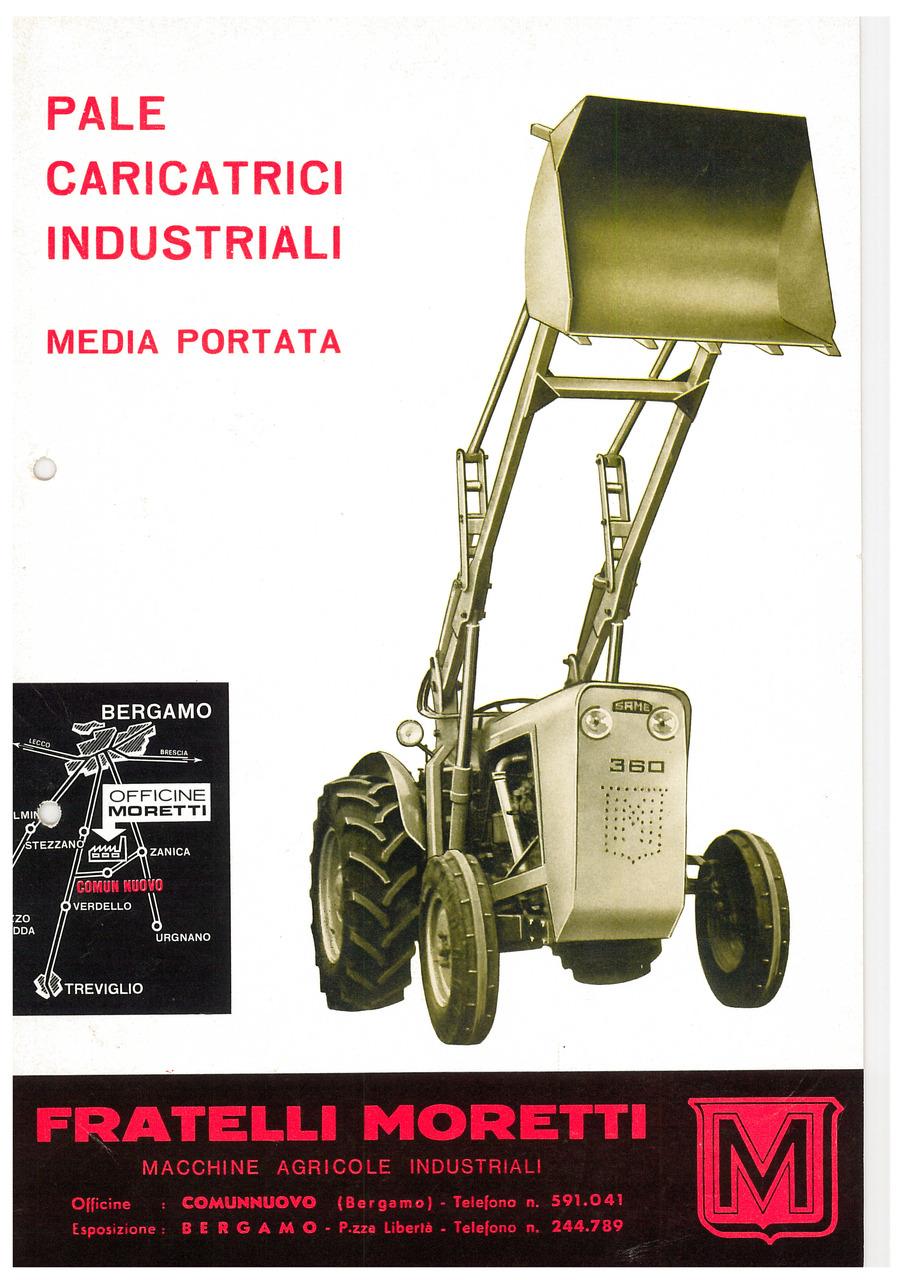 PALE CARICATRICI INDUSTRIALI MEDIA PORTATA
