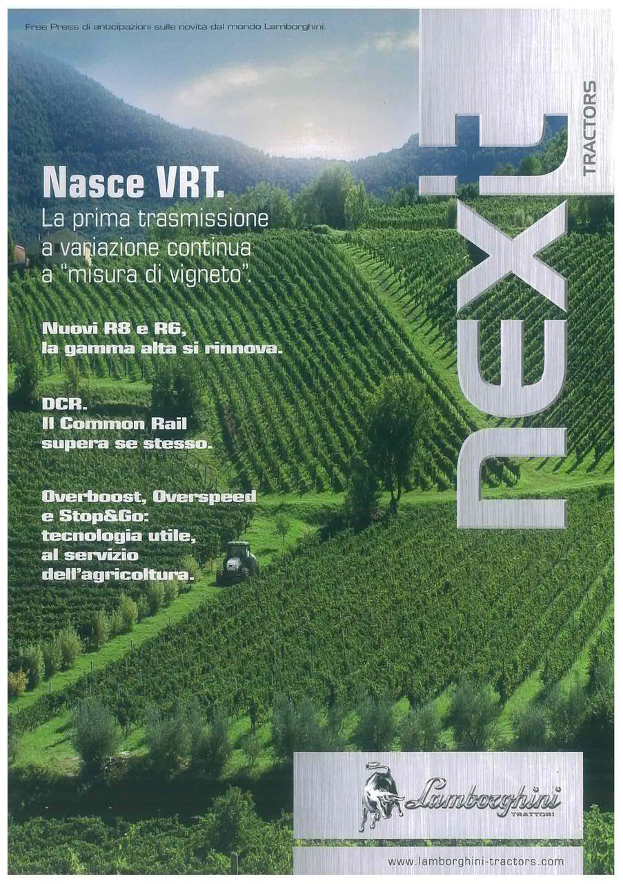 VRT NUOVA TRASMISSIONE - Next tractors