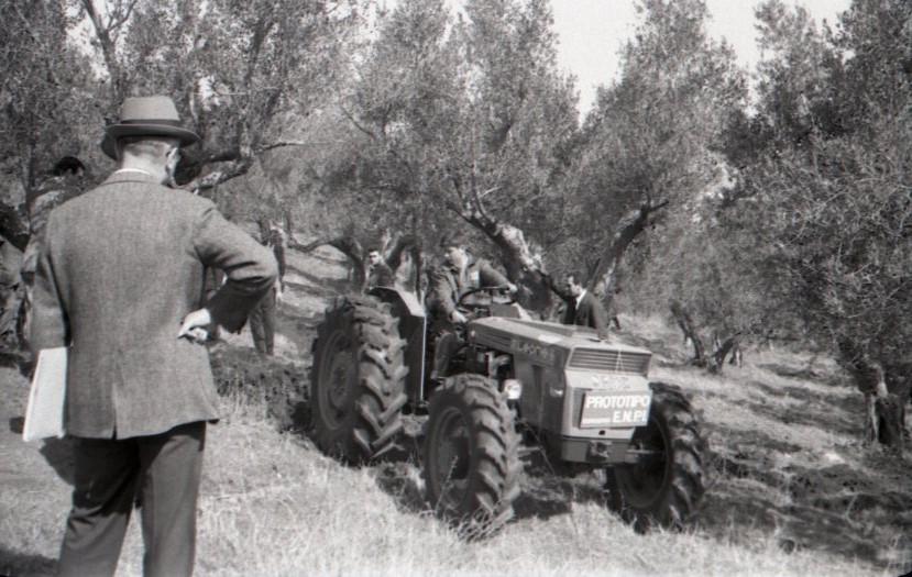 [SAME] prototipo trattore Leone, prove durante un concorso E.N.P.I.