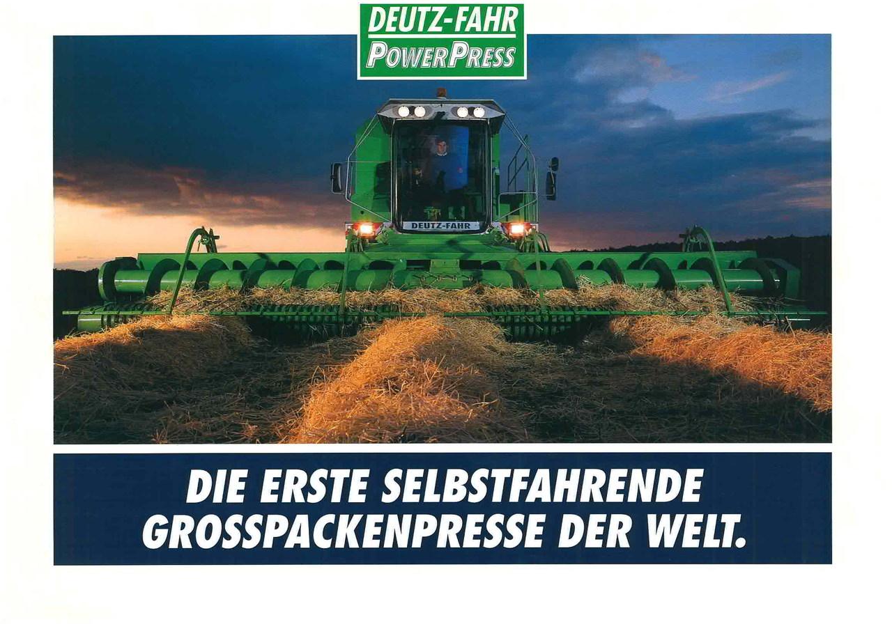 POWER PRESS - Die Erste selbstfahrende Grosspackendenpresse der Welt.