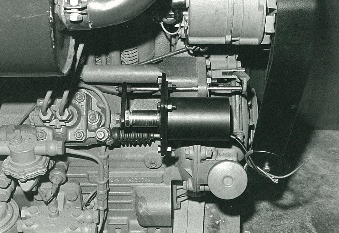 MOTORE Industriale ADIM 105 a 2 cilindri - Particolari
