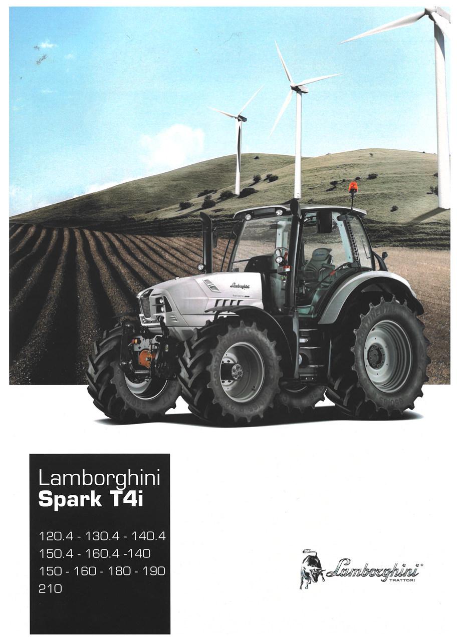 LAMBORGHINI SPARK T4i 120.4 - 130.4 - 140.4 - 150.4 - 160.4 - 140 - 150 - 160 - 180 - 190 - 210
