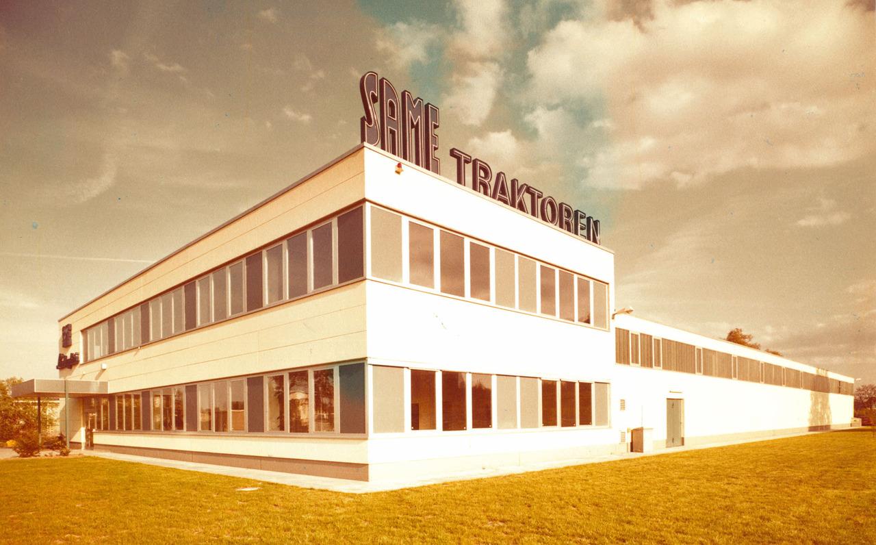 Visuale esterna della filiale svizzera del Gruppo SLH