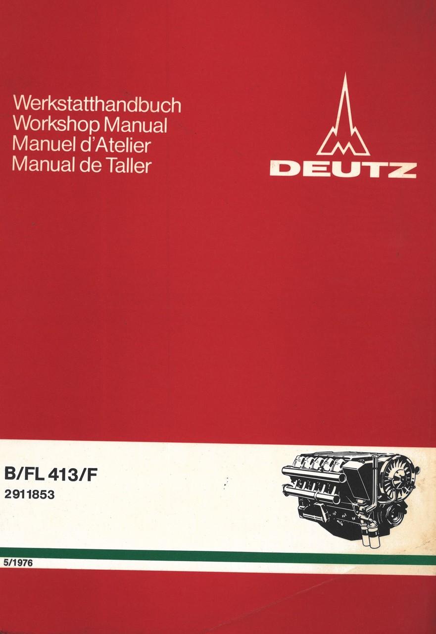 BFL 413 F - Werkstatthandbuch