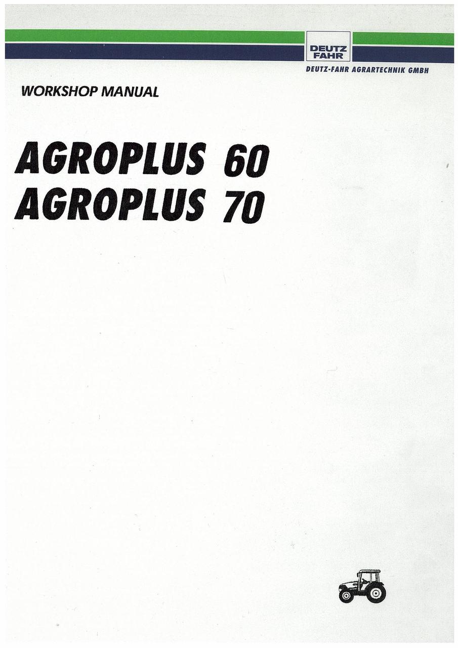 AGROPLUS 60-70 - Workshop Manual