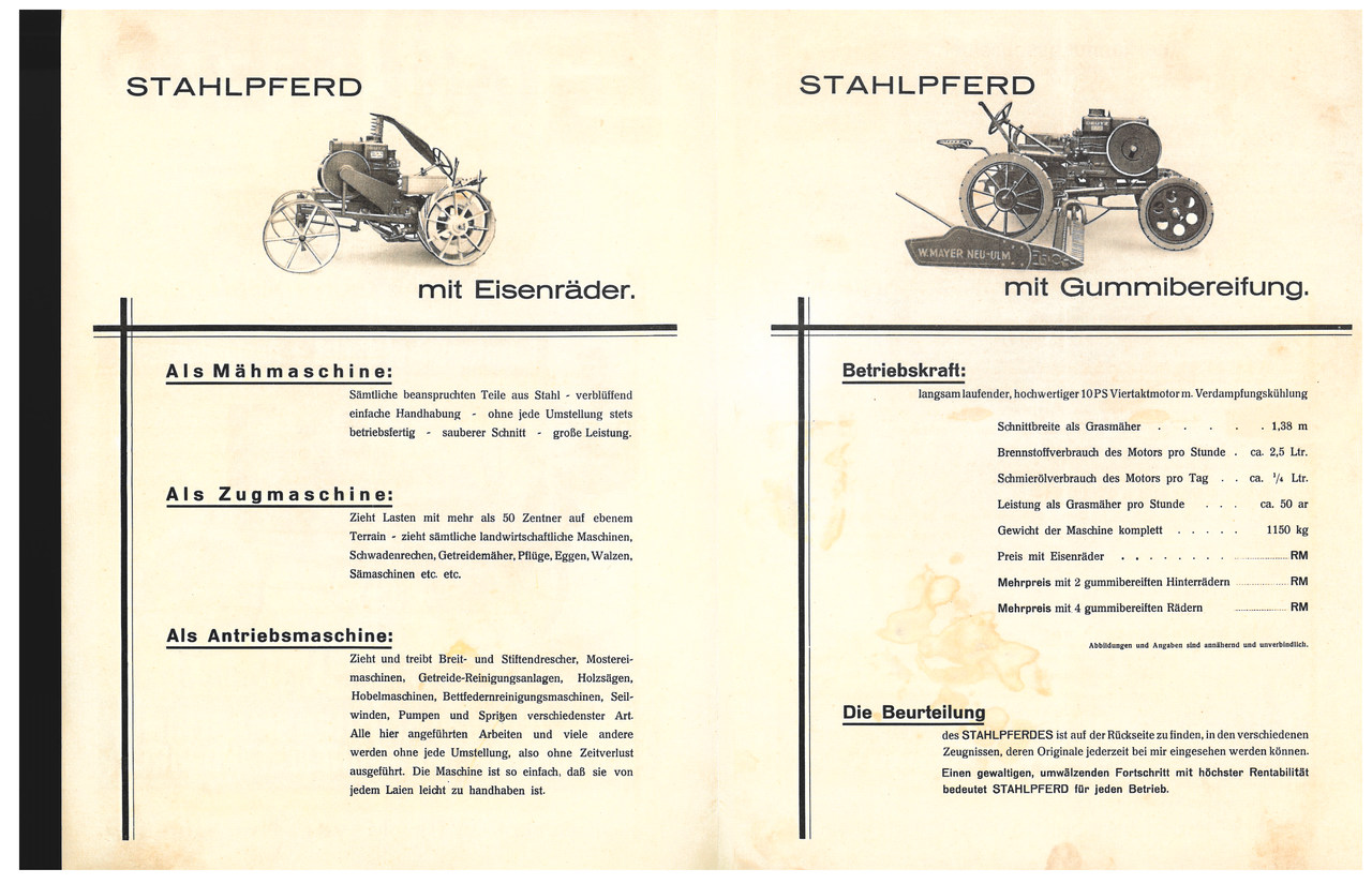 STAHLPFERD