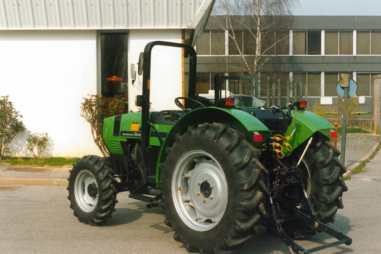 [Deutz-Fahr] trattore AgroCompact 3.50 S