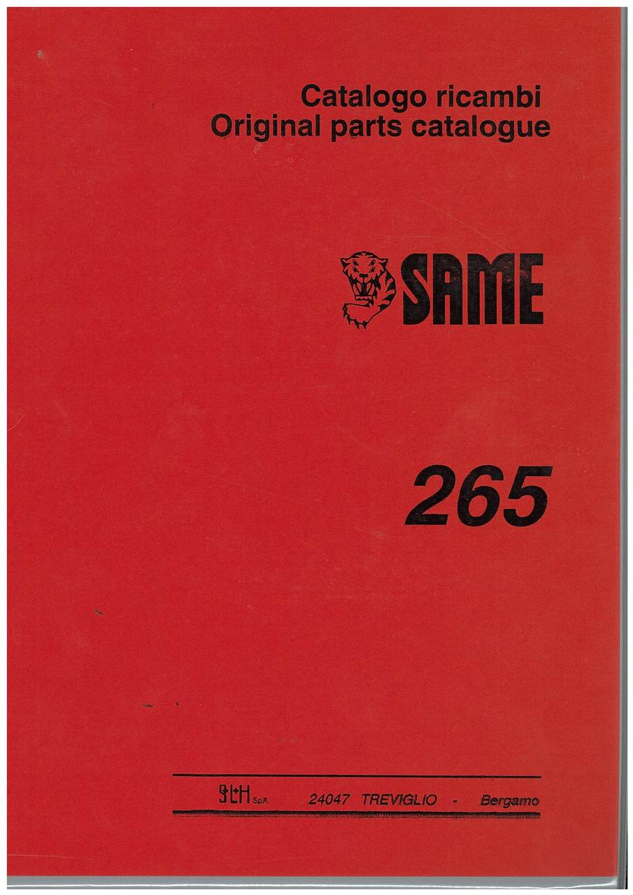 265 - Catalogo Ricambi / Original Parts Catalogue
