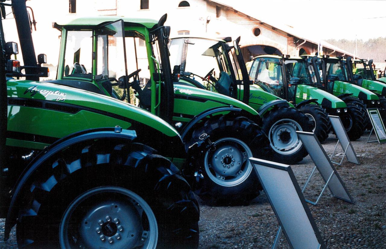 Convention dei concessionari Deutz-Fahr Italia per il lancio della gamma Agroplus