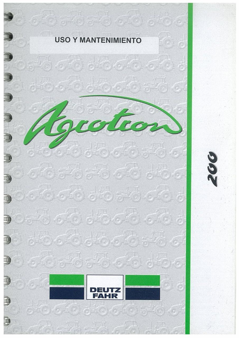 AGROTRON 200 - Uso y mantenimiento
