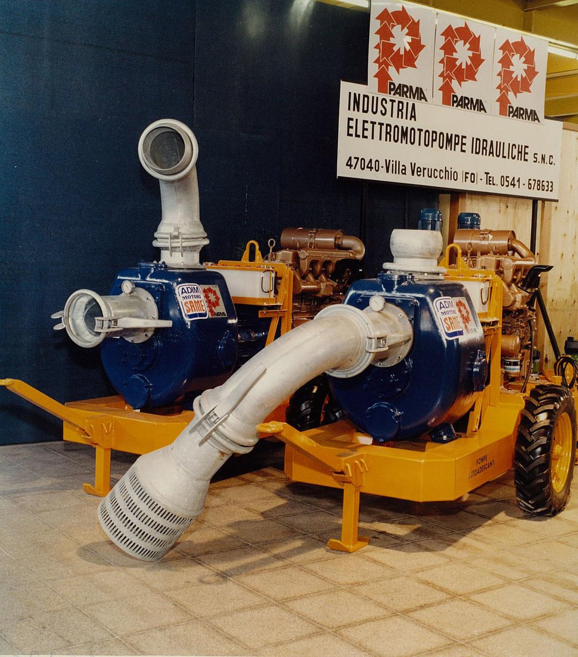Motore ADIM per elettropompe