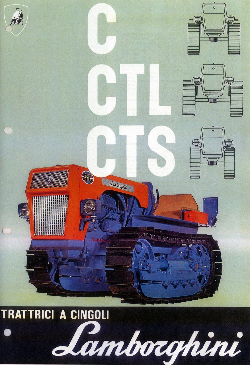 Trattrici a cingoli C - CTL - CTS