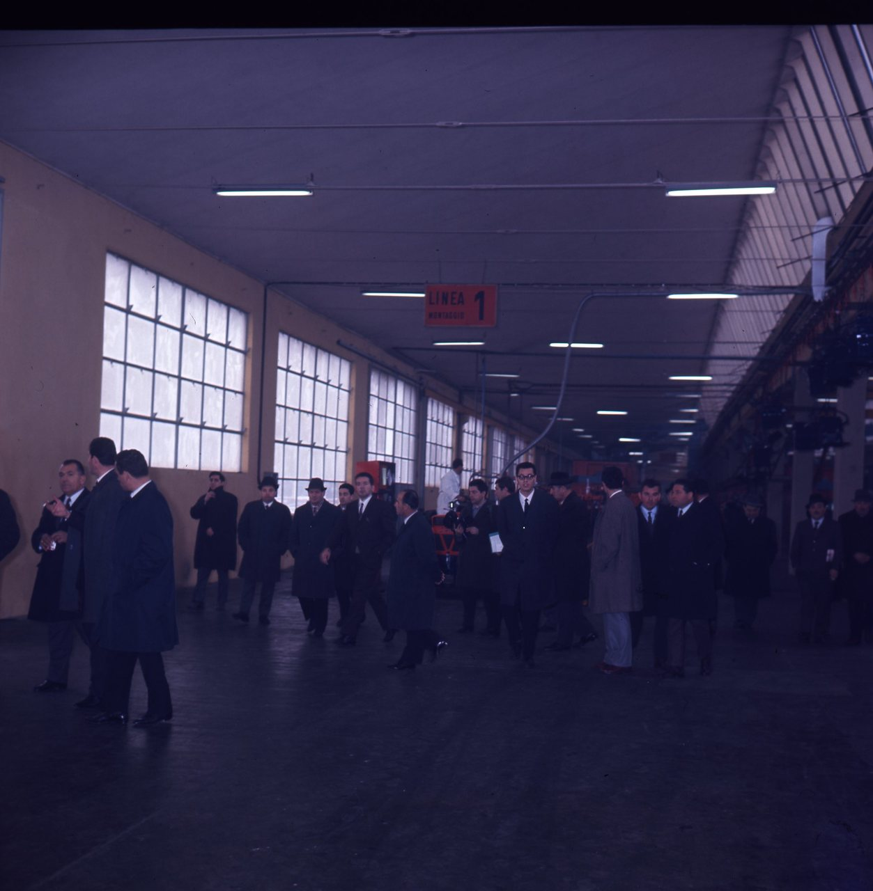 Riunione agenti 1968