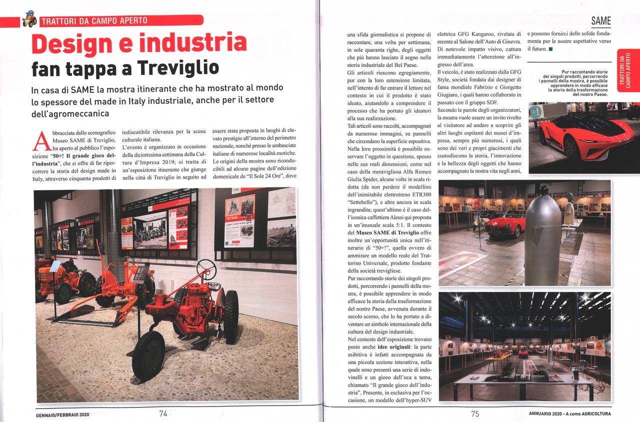 Design e industria fan tappa a Treviglio