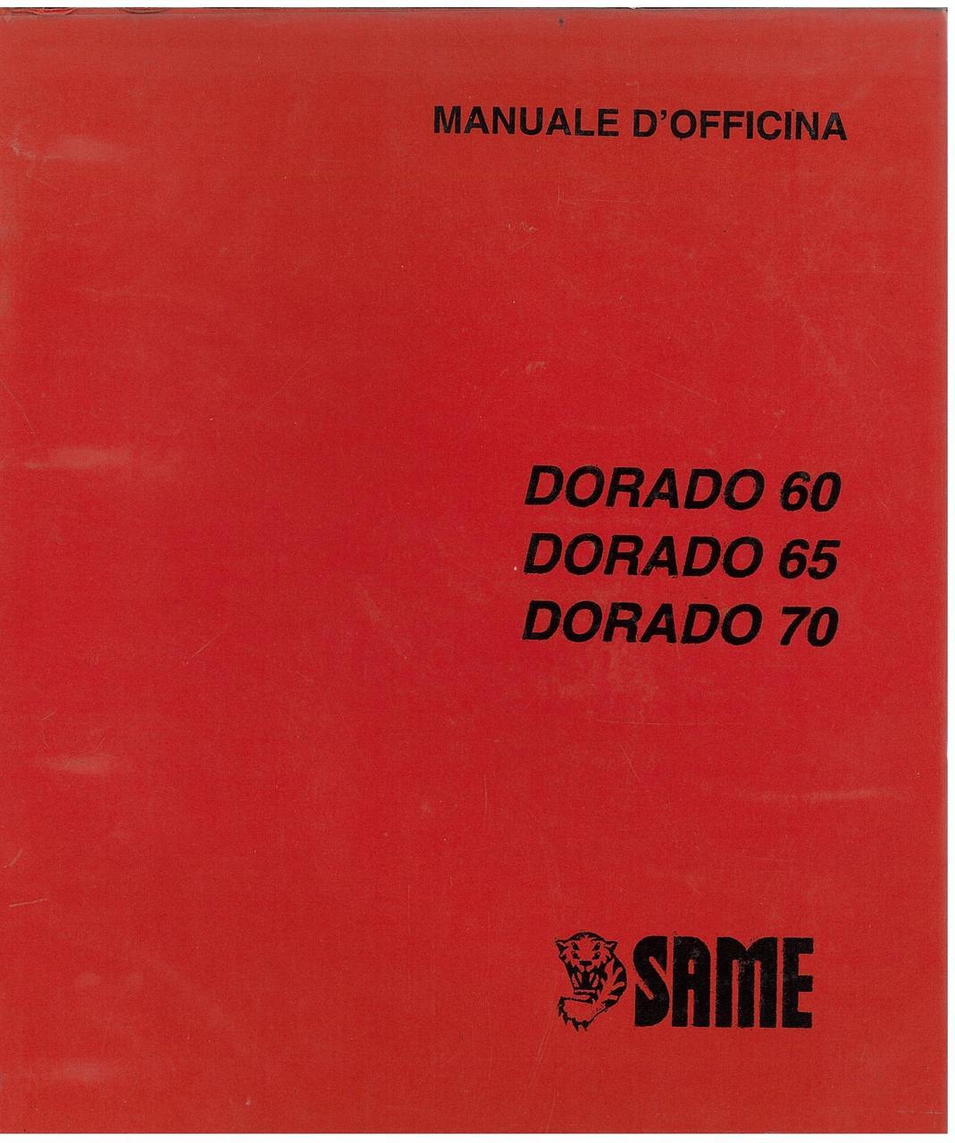 DORADO 60 - 65 - 70 - Manuale d'officina