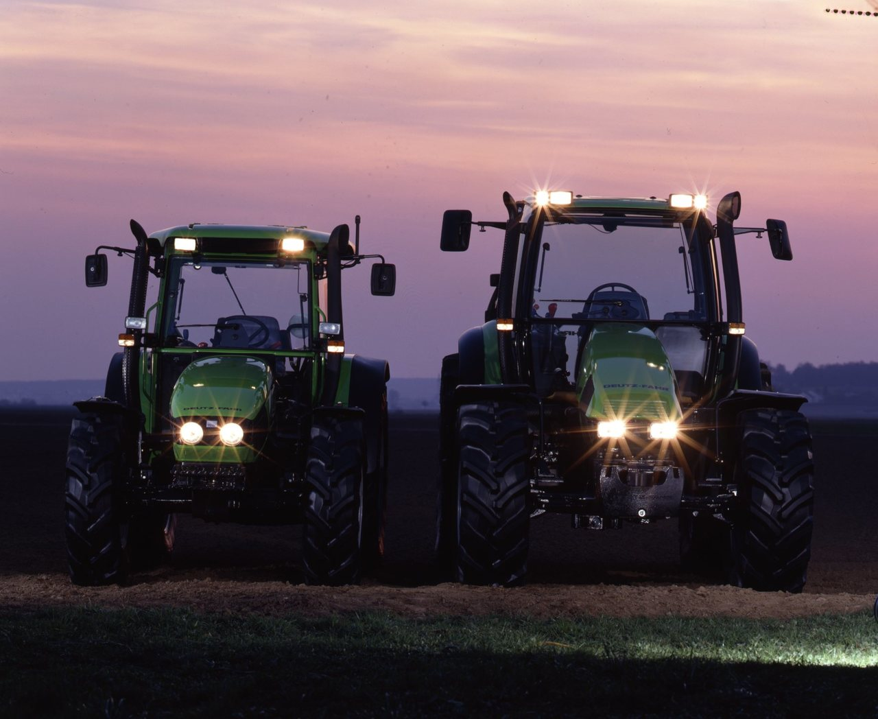 [Deutz-Fahr] trattori Agrotron e Agroplus