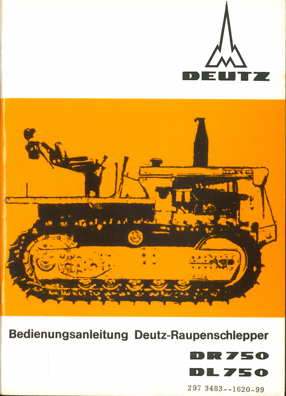 DR 750 - DL 750 - Bedienungsanleitung